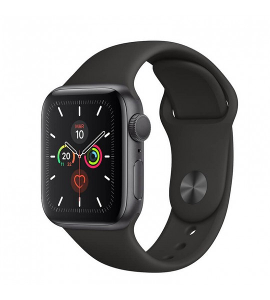 Apple Watch Series 5 GPS 44mm Aluminio Gris Espacial Reacondicionado AB Imagen 01